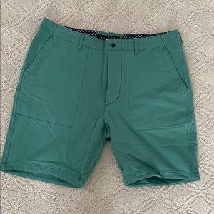 New Relwen Court Shorts Scrub Green 36